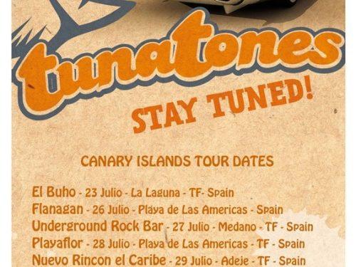 Tunatones live alle Isole Canarie