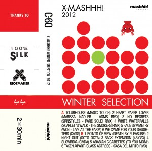 X-MASHHH! WINTER SELECTION la compilation natalizia targata Mashhh! Records