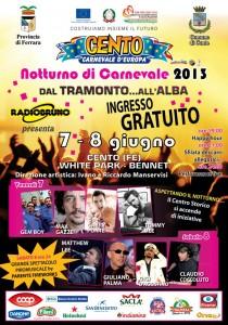 Carnevale di Cento organizza un evento benefico il 7/8 giugno. Fra gli ospiti, Max Gazzè e Giuliano Palma