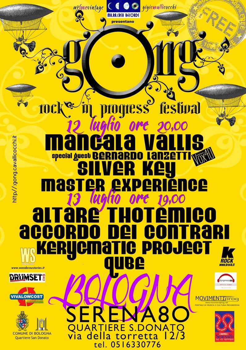 Gong: la nuova edizione del Rock In Progress Festival!