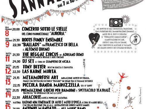 Ferragosto Sannazzareno 2013: la XXXIII Edizione!