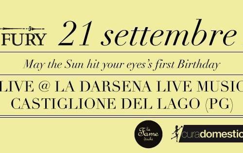 "The Rust And The Fury live @DARSENA – ""May The Sun Hit Your Eyes"" fa 1 anno!"