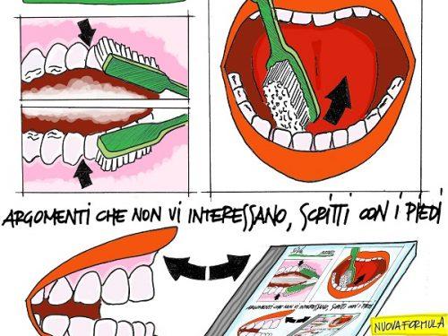 """SiVa """"Argomenti che non vi interessano scritti con i piedi"""", il primo album inciso su uno spazzolino da denti [Ascolta]"""