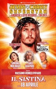 Al Teatro Sistina di Roma dal 18 aprile la rilettura del musical Jesus Christ Superstar, tra gli artisti presenti anche Shel Shapiro