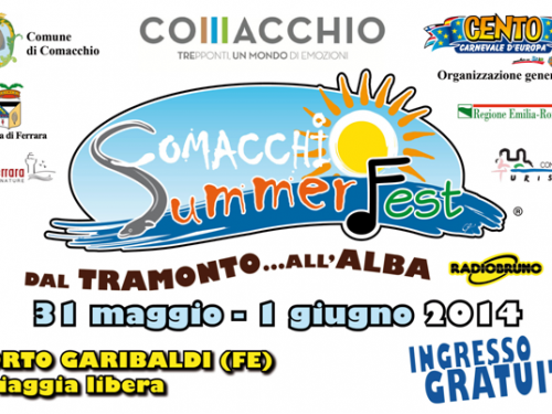 Comacchio Summer Fest, l'evento d'inizio estate 2014