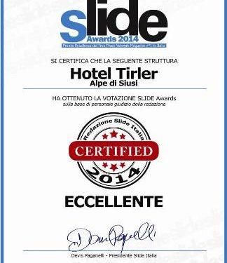 Un altro premio per TIRLER DOLOMITES LIVING HOTEL