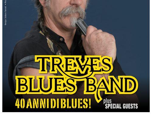 Sabato 29 novembre Treves Blues Band in concerto per festeggiare i 40 anni di Blues