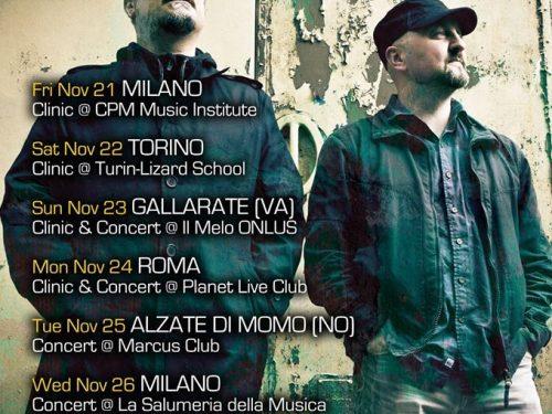 TWINSCAPES dal 21 al 26 novembre 6 date in Italia per un trio d eccezione