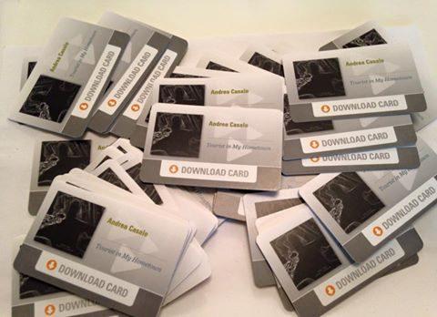 Andrea Casale, disponibili le 'Download cards' per scaricare il suo album d'esordio