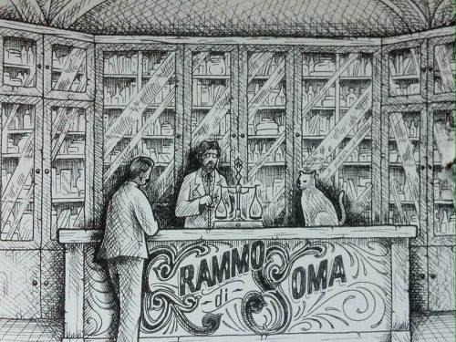 GRAMMO DI SOMA è il disco in uscita per l'etichetta Seahorse Recordings; si chiama l'eta ingrata