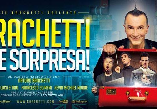 """Venerdì 27 Novembre 2015 ARTURO BRACHETTI – """"Brachetti che sorpresa!"""" H 21.00 – TEATRO GALLERIA  piazza San Magno, Legnano (MI)"""