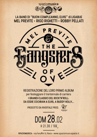 Per festeggiare la loro trentennale collaborazione Mel,Rigo e Robby  registreranno il loro primo disco Live che uscirà nel 2016 prodotto da Rivertale Productions