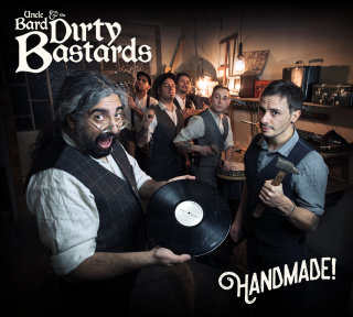 "Gli UNCLE BARD & THE DIRTY BASTARDS presentano il video di ""Too Old To Stop Now"" tratto dal nuovo album HANDMADE!"
