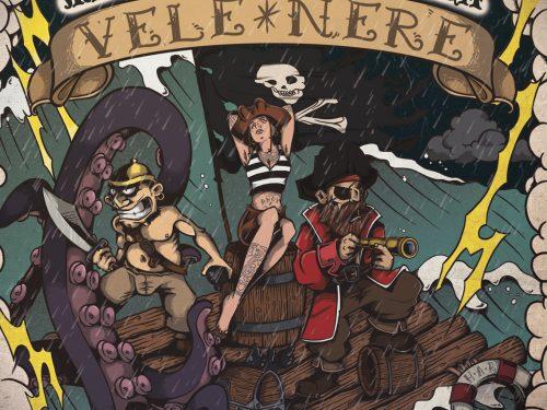 MALEDUCAZIONE ALCOLICA – Vele Nere  (Maninalto! Records)