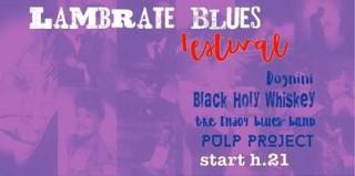 Sabato 16 giugno Lambrate Blues Festival, nell'auditorium Stefano Cerri (all'interno della Biblioteca Comunale di Via Valvassori Peroni _ Milano)… Nella Lambrate in cui è nata una leggenda del blues come Fabio Treves… un festival tutto blues…