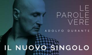 """Nel 2015 è stato premiato come miglior artista da Amnesty International Italia… Ora ADOLFO DURATE ritorna con un singolo, """"Le parole vere""""… una bellissima pop ballad che è riflessione sui rapporti interpersonali all'epoca dei social e whatsup"""