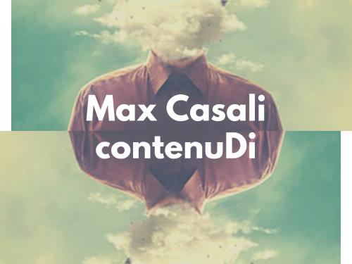 Max Casali torna con il singolo ContenuDi