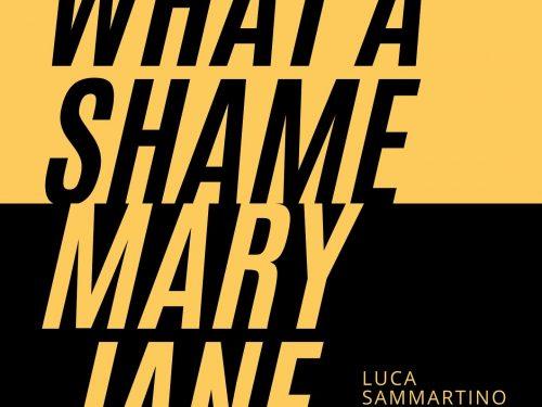 What a shame Mary Jane: nuovo singolo di Luca Sammartino